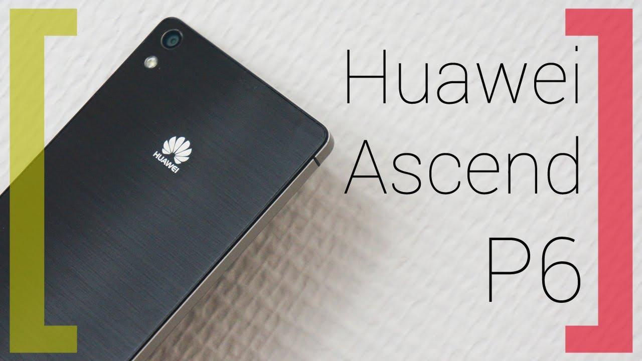 Самый тонкий в мире — Huawei Ascend P6
