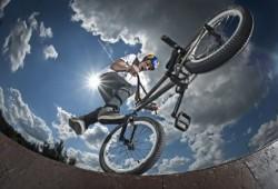 Оснащение для трюков на велобайке